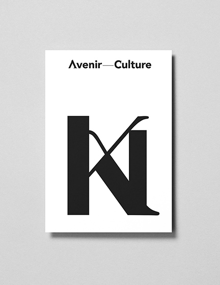 Art By Concept, cultural venture - Visual identity, custom typeface, digital appearance