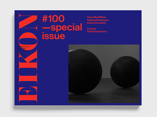 Eikon Magazine Issue 100 - Art Direction